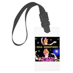 Diva Minister, Music Is My Bible Large Luggage Tag