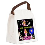 Diva Minister, Music Is My Bible Canvas Lunch Bag
