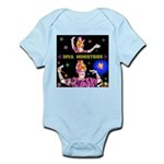 Diva Minister, Music Is My Bible Infant Bodysuit