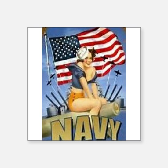 5 Military Pin Ups Sticker
