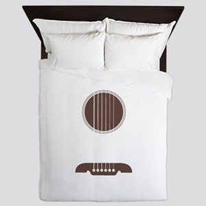 Guitar Strings Queen Duvet