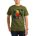 Hawaiian Torch Heliconia & Butterflies Organic Men