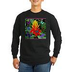 Hawaiian Torch Heliconia & Butterflies Long Sleeve