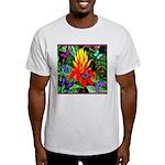 Hawaiian Torch Heliconia & Butterflies Light T-Shi