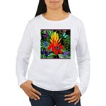 Hawaiian Torch Heliconia & Butterflies Women's Lon