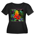 Hawaiian Torch Heliconia & Butterflies Women's Plu