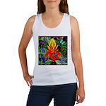 Hawaiian Torch Heliconia & Butterflies Women's Tan