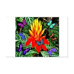 Hawaiian Torch Heliconia & Butterflies Mini Po
