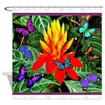 Hawaiian Torch Heliconia & Butterflies Shower