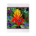 Hawaiian Torch Heliconia & Butterflies Twin Du
