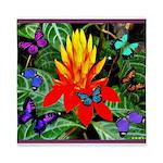 Hawaiian Torch Heliconia & Butterflies Queen D