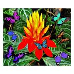 Hawaiian Torch Heliconia & Butterflies King Du