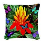 Hawaiian Torch Heliconia & Butterflies Woven T