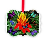 Hawaiian Torch Heliconia & Butterflies Picture
