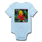 Hawaiian Torch Heliconia & Butterflies Infant Body