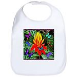 Hawaiian Torch Heliconia & Butterflies Bib