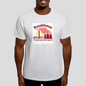 Kazakhstan Power -  Ash Grey T-Shirt