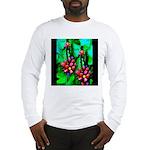 Mystic Hawaiian Banana Flower Long Sleeve T-Shirt