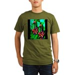 Mystic Hawaiian Banana Flower Organic Men's T-Shir