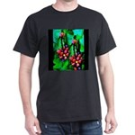 Mystic Hawaiian Banana Flower Dark T-Shirt