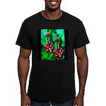 Mystic Hawaiian Banana Flower Men's Fitted T-Shirt