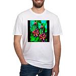 Mystic Hawaiian Banana Flower Fitted T-Shirt