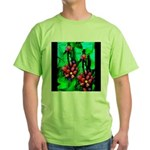 Mystic Hawaiian Banana Flower Green T-Shirt