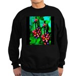 Mystic Hawaiian Banana Flower Sweatshirt (dark)