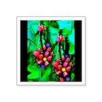 Mystic Hawaiian Banana Flower Square Sticker 3