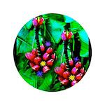 """Mystic Hawaiian Banana Flower 3.5"""" Button (10"""