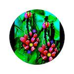 """Mystic Hawaiian Banana Flower 3.5"""" Button"""