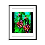 Mystic Hawaiian Banana Flower Framed Panel Print