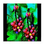Mystic Hawaiian Banana Flower Tile Coaster