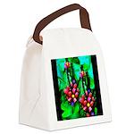 Mystic Hawaiian Banana Flower Canvas Lunch Bag
