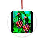 Mystic Hawaiian Banana Flower Ornament (Round)