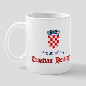 Croatian Heritage Mug