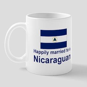 Happily Married To A Nicaraguan Mug