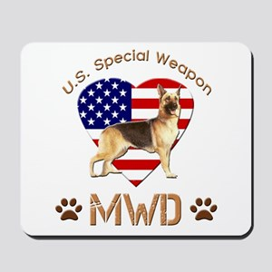 U.S. Special Weapon MWD Mousepad