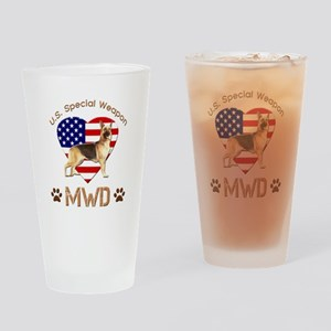 U.S. Special Weapon MWD Drinking Glass