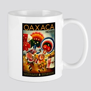 Vintage Oaxaca Mexico Travel Mug