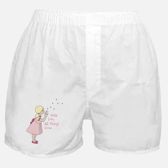 All Things Grow Boxer Shorts