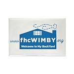 3.125 X .125 Wimby Logo Magnets