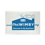 3.125 X 2.125 10 Pack Wimby Logo Magnets
