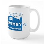 Welcome In My BackYard (WIMBY) Logo Mugs