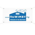 Welcome In My BackYard (WIMBY) Logo Banner