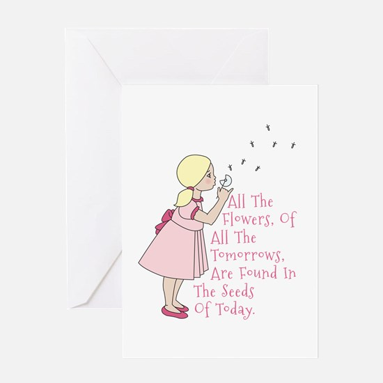 Seeds Of Today Greeting Card