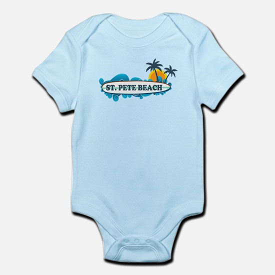 St. Pete Beach - Surf Design. Infant Bodysuit