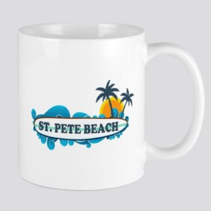 St. Pete Beach - Surf Design. Mug