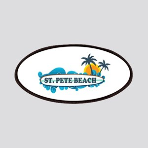 St. Pete Beach - Surf Design. Patches