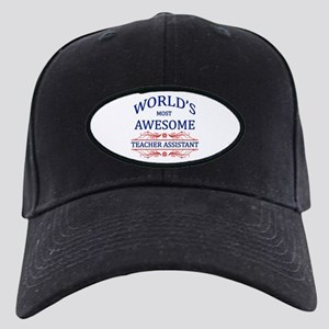 World's Most Awesome Teacher's Assistant Black Cap